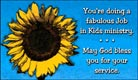 Fabulous Job In Kid's Ministry - Ecard
