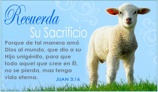 Recuerda Su Sacrificio