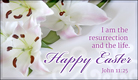 Easter - John 11:25 - Ecard