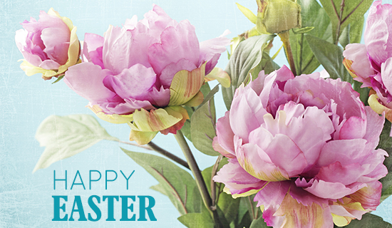 happy easter bunnies flowers-#21