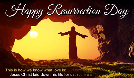 Sent Happy Resurrection Day eCard - Send Free Personalized Easter ...