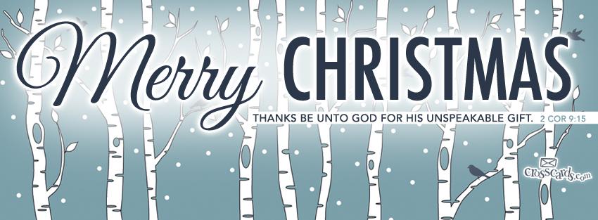 Merry Christmas - 2 Cor 9:15