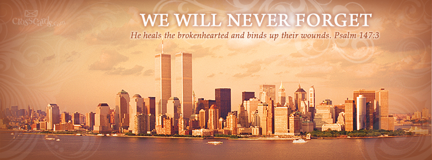 Never Forget - Facebook Cover