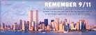 Remember 9/11 - Facebook Cover
