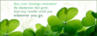 Irish Blessing - Facebook Cover