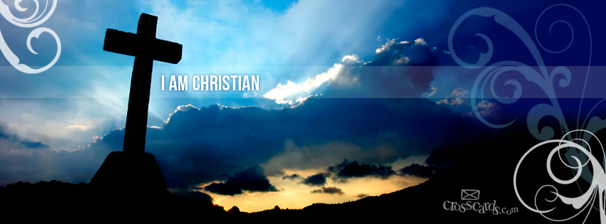 Christian Banners for FB http://www.crosscards.com/facebookcovers/i-am-christian-fb.html
