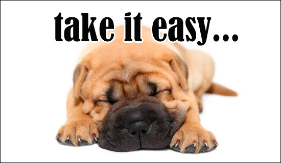 Take It Easy Just For Fun Ecard Free Christian Ecards