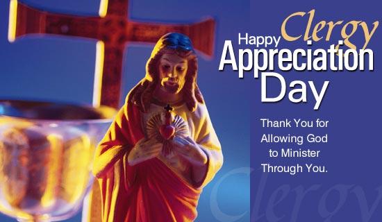 Happy Clergy Appreciation Day