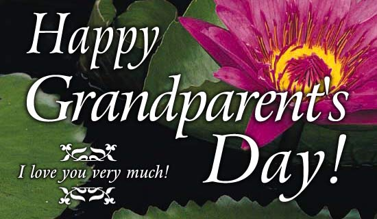 Happy Grandparent's Day eCard - Send Free Personalized Grandparent's Day