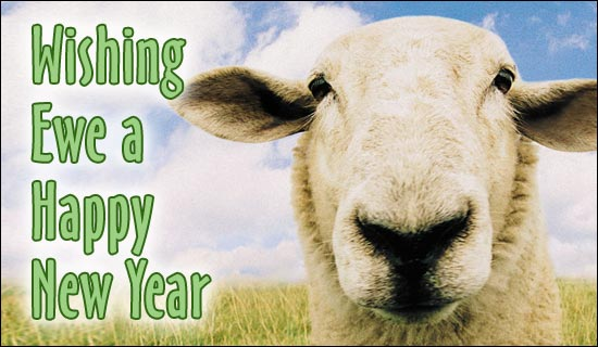Happy New Year to Ewe