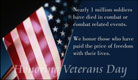 Honoring Veteran's Day - Ecard