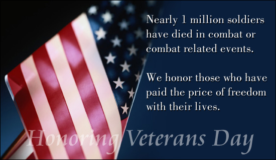 Honoring Veteran's Day