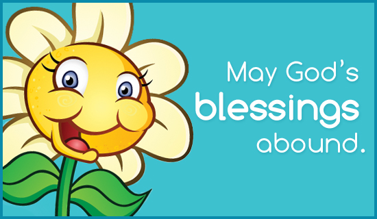Blessings Abound - Wallpaper