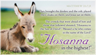 Hosanna!