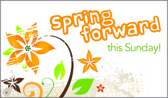 Free Spring Forward eCard - eMail Free Personalized Daylight ...
