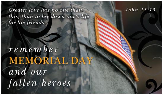 Fallen Heroes - Wallpaper