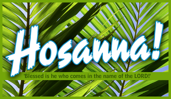 sermon mark 11111 � hosanna a palm sunday plea first
