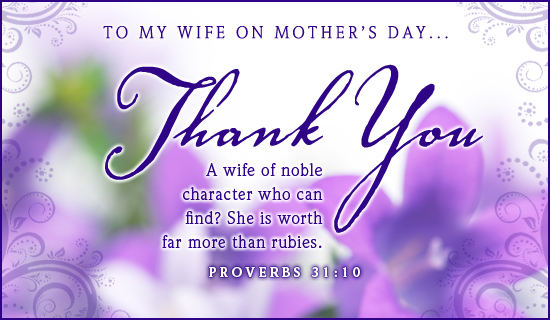 Breathtaking image in printable mothers day cards for wife
