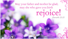 Rejoice! - Ecard
