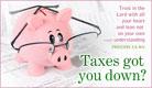 Trust God with Taxes
