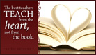Teach from Heart - Ecard