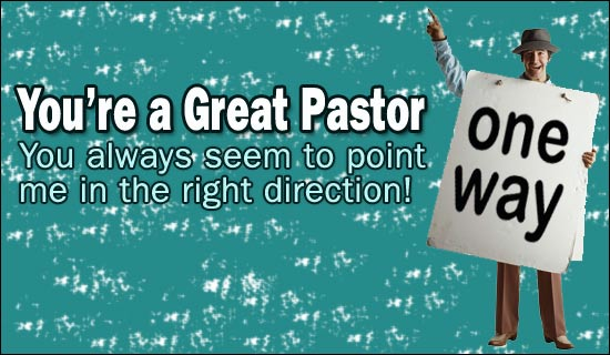 You're A Great Pastor