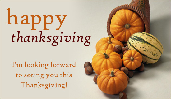 Happy Thanksgiving - Ecard