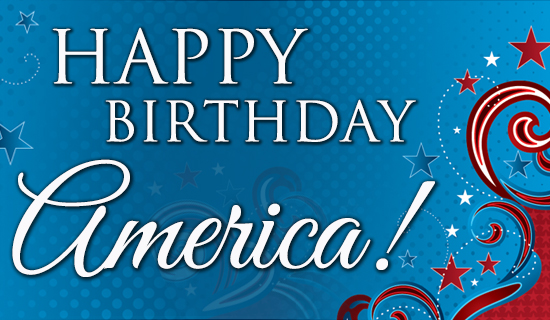 America Birthday - Wallpaper