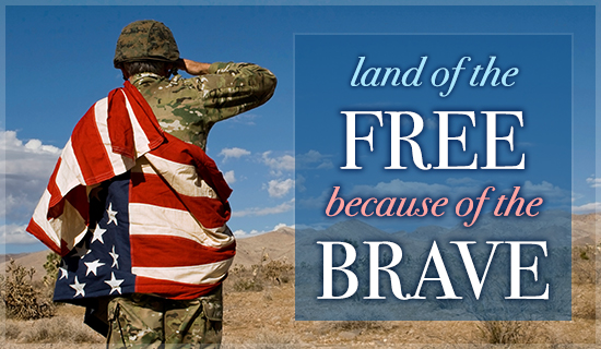 Free and Brave - Wallpaper