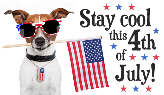 Stay Cool July 4th - Wallpaper