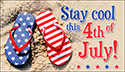 Stay Cool July 4th