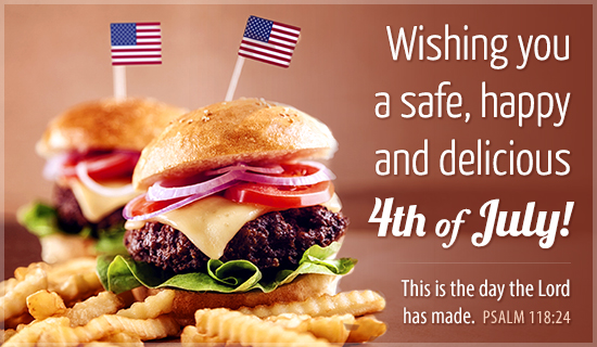 Wishing You Delicious 4th of July - Wallpaper