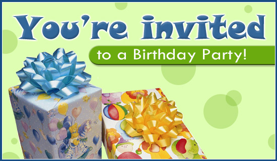 Birthday Ecards Invitations ~ Free birthday party ecard email personalized invitations cards online