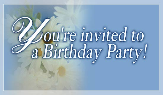 You're Invited To a Birthday Party