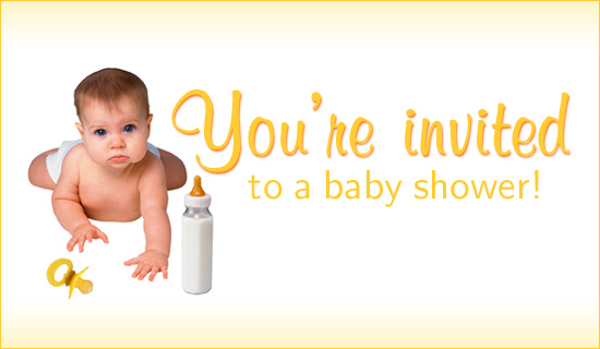 You're Invited To A Baby Shower