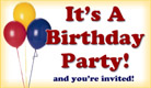 It's A Birthday Party - Ecard