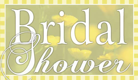 Free Bridal Shower eCard  eMail Free Personalized Bridal Shower Cards