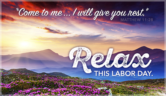 Relax this Labor Day - Wallpaper
