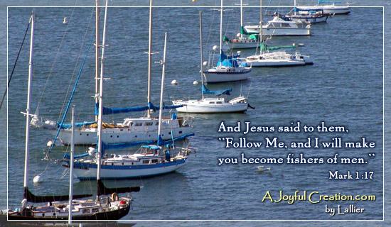 Fishers of Men - Mark 1:17