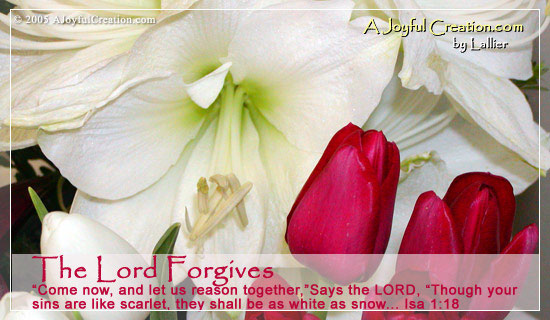 The Lord Forgives