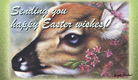 Easter Fawn - Ecard