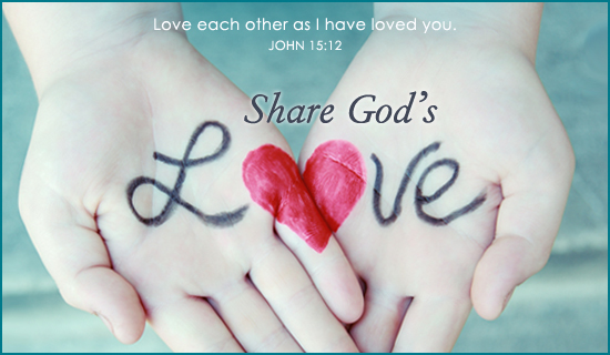 Share God's Love - Ecard