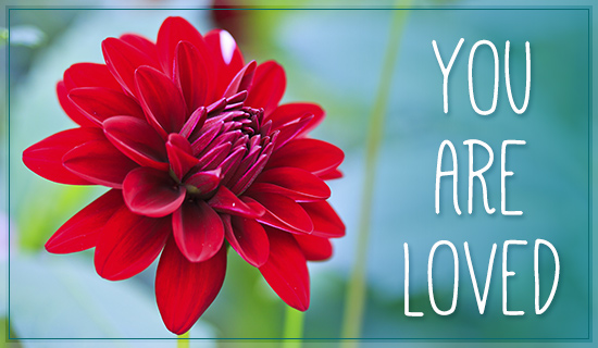 You Are Loved - Wallpaper