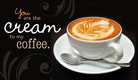 Cream to my Coffee - Ecard