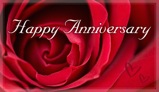 Happy anniversary ecard free greeting cards