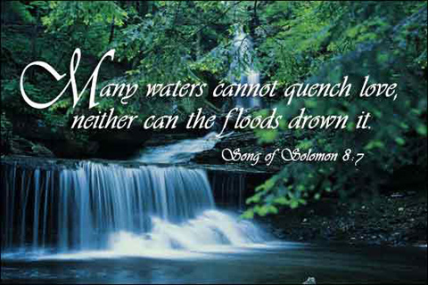 Many Waters Cannot Quench Love