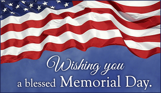 Blessed Memorial Day - Wallpaper