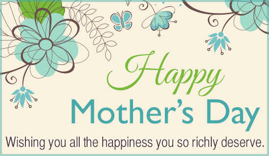 Happiness Mother
