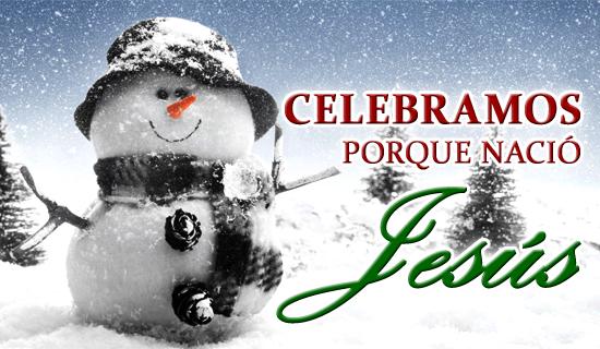 Celebramos porque nació Jesús