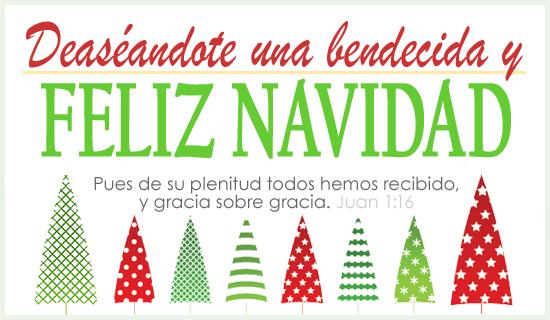 Deaséandote una bendecida y Feliz Navidad